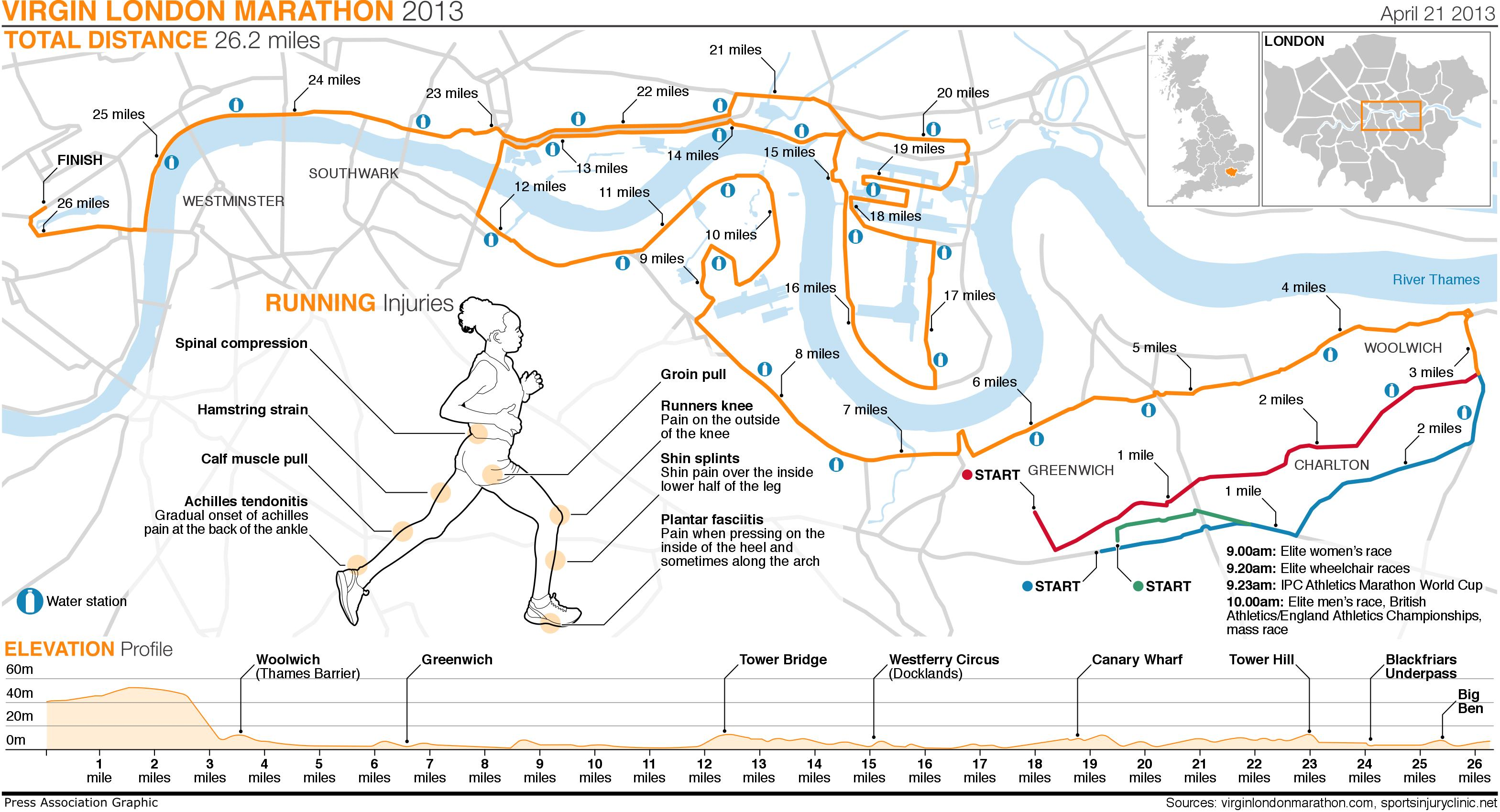Thames Blog The London Marathon To Run Or Not To Run Glen - London marathon map