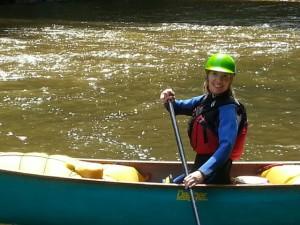 Krista solo canoe