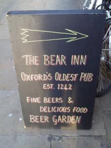 www lovetravelengland com The Bear Inn Oxford