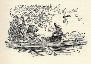 The Wind in the Willows illustrated by E H Shepard