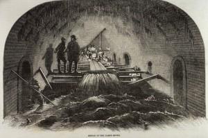 Fleet Street Sewer 1854