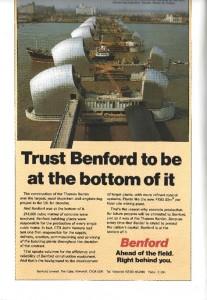 Benford The Thames Barrier Gilbert and Horner p190