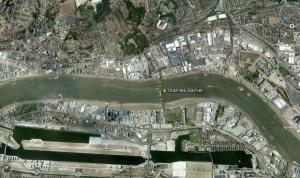 Thames Barrier Google Earth wreforum org