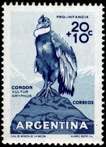 argentina-andean-condor-stamp